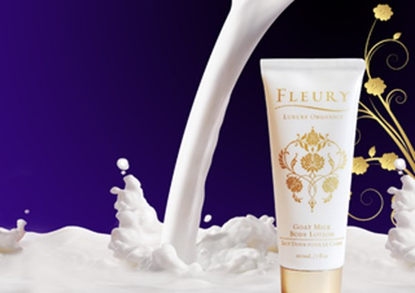 Fluery luxury organic cosmetics products